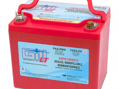 Introducing the New King Super Capacity Gill LT 12V Sealed VRLA Aircraft Battery